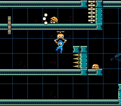 Mega Man 9 screen
