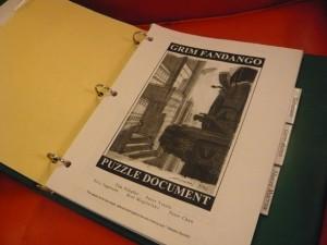 Documento de diseño de Grim Fandango