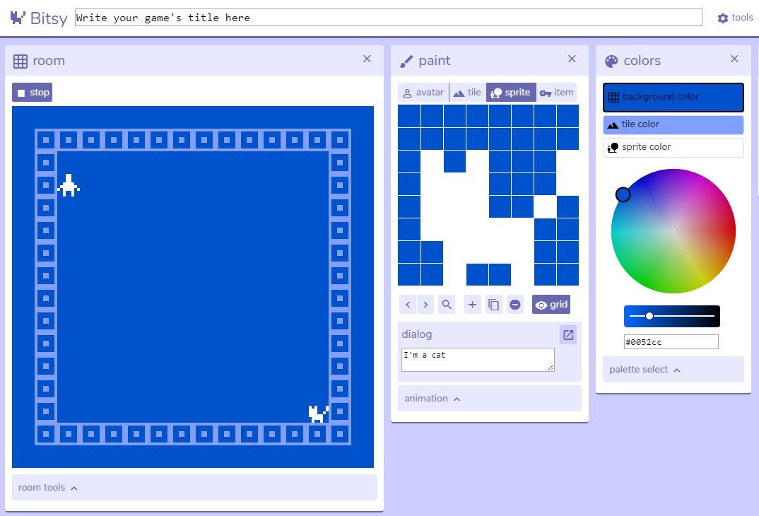 Screenshot de Bitsy